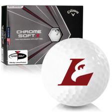 Callaway Golf Chrome Soft X Wisconsin La Crosse Eagles Golf Balls