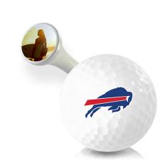 Premium 2 3/4 Inch Buffalo Bills Golf Tees - 50 Pack