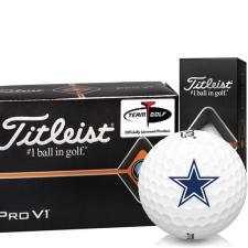 Titleist Pro V1 Half Dozen Dallas Cowboys Golf Balls - 6 Pack