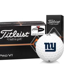 Titleist Pro V1 Half Dozen New York Giants Golf Balls - 6 Pack