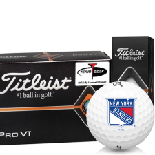 Titleist Pro V1 Half Dozen New York Rangers Golf Balls - 6 Pack