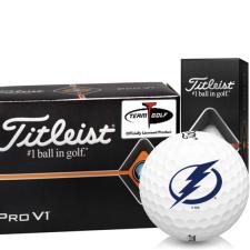 Titleist Pro V1 Half Dozen Tampa Bay Lightning Golf Balls - 6 Pack