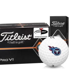 Titleist Pro V1 Half Dozen Tennessee Titans Golf Balls - 6 Pack