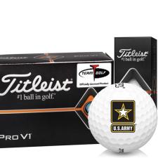 Titleist Pro V1 Half Dozen US Army Golf Balls - 6 Pack