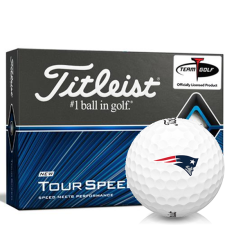 Titleist Tour Speed New England Patriots Golf Balls