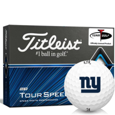 Titleist Tour Speed New York Giants Golf Balls