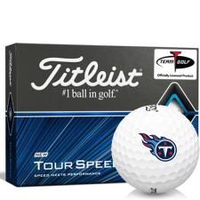 Titleist Tour Speed Tennessee Titans Golf Balls