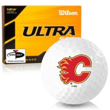 Wilson Ultra 500 Distance Calgary Flames Golf Balls