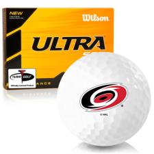 Wilson Ultra 500 Distance Carolina Hurricanes Golf Balls