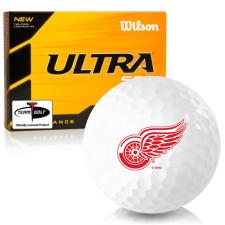 Wilson Ultra 500 Distance Detroit Red Wings Golf Balls