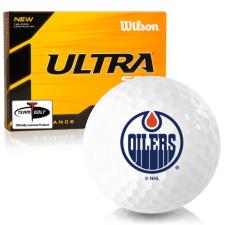 Wilson Ultra 500 Distance Edmonton Oilers Golf Balls