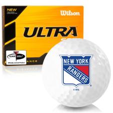 Wilson Ultra 500 Distance New York Rangers Golf Balls