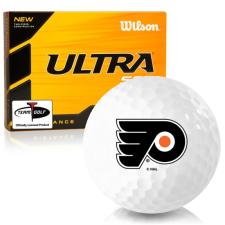 Wilson Ultra 500 Distance Philadelphia Flyers Golf Balls