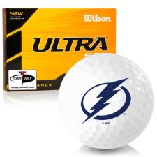 Wilson Ultra 500 Distance Tampa Bay Lightning Golf Balls