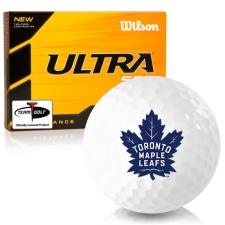 Wilson Ultra 500 Distance Toronto Maple Leafs Golf Balls