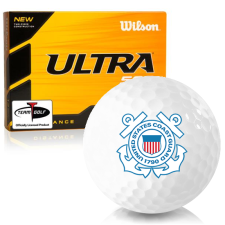 Wilson Ultra 500 Distance US Coast Guard Golf Balls