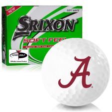 Srixon Soft Feel 12 Alabama Crimson Tide Golf Balls