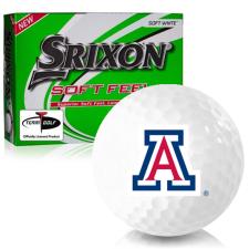 Srixon Soft Feel 12 Arizona Wildcats Golf Balls