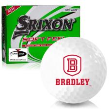 Srixon Soft Feel 12 Bradley Braves Golf Balls