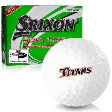 Srixon Soft Feel 12 Cal State Fullerton Titans Golf Balls