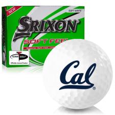 Srixon Soft Feel 12 California Golden Bears Golf Balls
