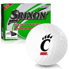 Srixon Soft Feel 12 Cincinnati Bearcats Golf Balls