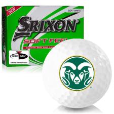 Srixon Soft Feel 12 Colorado State Rams Golf Balls