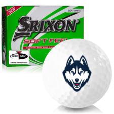 Srixon Soft Feel 12 UConn Huskies Golf Balls