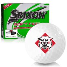 Srixon Soft Feel 12 Davidson Wildcats Golf Balls