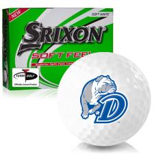 Srixon Soft Feel 12 Drake Bulldogs Golf Balls