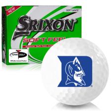 Srixon Soft Feel 12 Duke Blue Devils Golf Balls