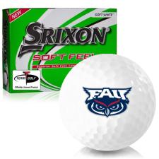 Srixon Soft Feel 12 Florida Atlantic Owls Golf Balls