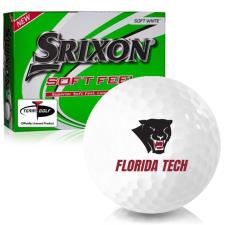 Srixon Soft Feel 12 Florida Tech Panthers Golf Balls