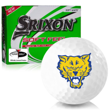 Srixon Soft Feel 12 Fort Valley State Wildcats Golf Balls
