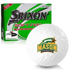 Srixon Soft Feel 12 George Mason Patriots Golf Balls