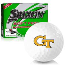 Srixon Soft Feel 12 Georgia Tech Golf Balls