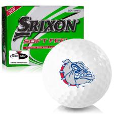 Srixon Soft Feel 12 Gonzaga Bulldogs Golf Balls