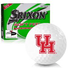 Srixon Soft Feel 12 Houston Cougars Golf Balls