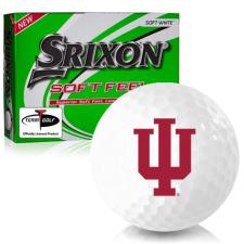 Srixon Soft Feel 12 Indiana Hoosiers Golf Balls
