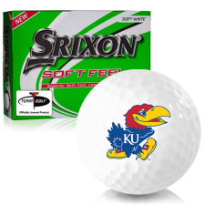 Srixon Soft Feel 12 Kansas Jayhawks Golf Balls