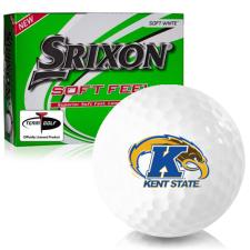 Srixon Soft Feel 12 Kent State Golden Flashes Golf Balls