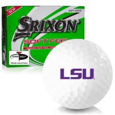 Srixon Soft Feel 12 LSU Tigers Golf Balls
