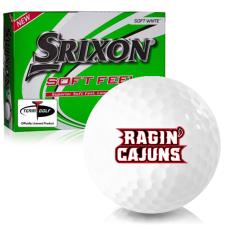 Srixon Soft Feel 12 Louisiana Ragin' Cajuns Golf Balls