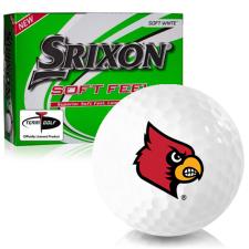 Srixon Soft Feel 12 Louisville Cardinals Golf Balls