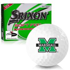 Srixon Soft Feel 12 Marshall Thundering Herd Golf Balls