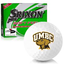 Srixon Soft Feel 12 Maryland Baltimore County Retrievers Golf Balls