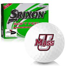 Srixon Soft Feel 12 UMass Minutemen Golf Balls
