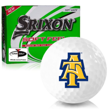 Srixon Soft Feel 12 North Carolina A&T Aggies Golf Balls