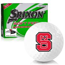 Srixon Soft Feel 12 North Carolina State Wolfpack Golf Balls