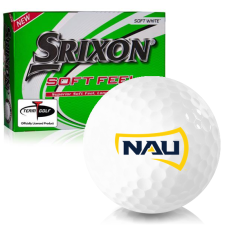 Srixon Soft Feel 12 Northern Arizona Lumberjacks Golf Balls